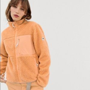 Penfield Mattawa fleece in peach
